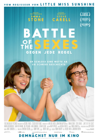 Filmplakat/Bild zu BATTLE OF THE SEXES, Regie: Jonathan Dayton & Valerie Faris