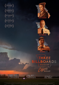 Filmplakat/Bild zu THREE BILLBOARDS OUTSIDE EBBING, MISSOURI, Regie: Martin McDonagh