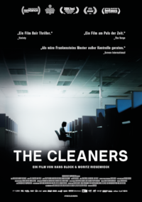 Filmplakat/Bild zu THE CLEANERS, Regie: Hans Block & Moritz Riesewieck